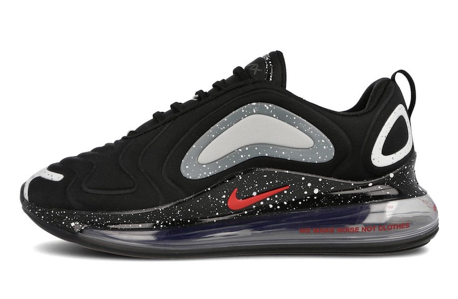 Nike x Undercover Air Max 720 Black University Red | Footshop