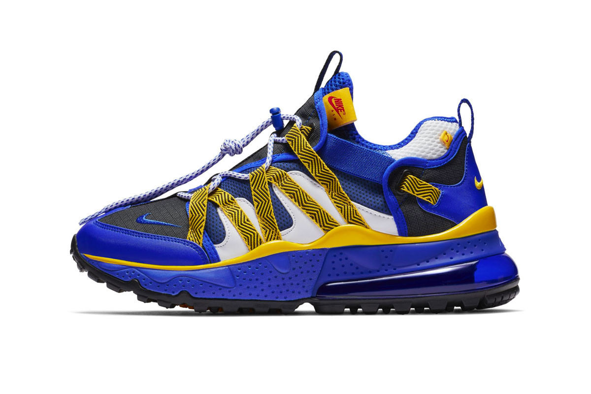 Nike Air Max 270 Bowfin 'Blue & Yellow'