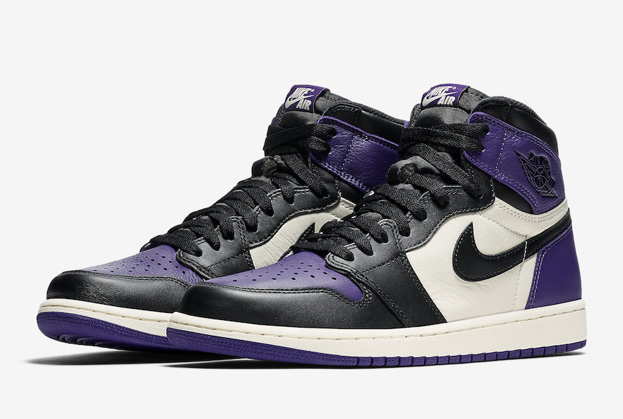Air Jordan 1 High OG 'Court Purple' - Oficjalne Zdjęcia