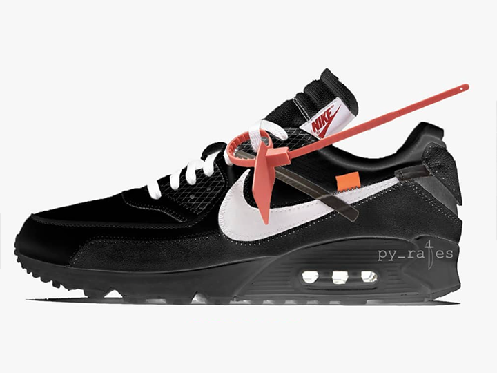 Tenisufki.eu Nike Air Max 90 x OFF WHITE 'Black'