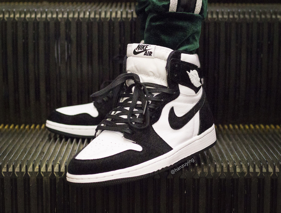 On Feet: Air Jordan 1 High OG 'Panda'
