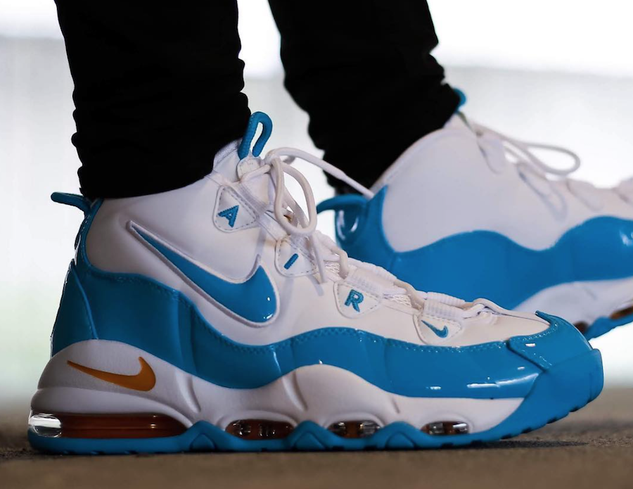On Feet: Nike Air Max Uptempo 95 'Blue Fury'