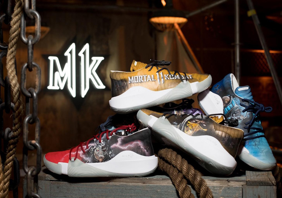 Mortal Kombat x Under Armour x Mache Customs