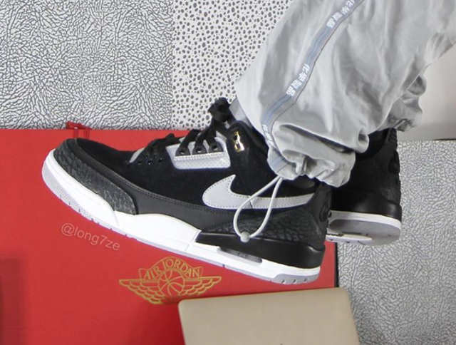 Air Jordan 3 Tinker 'Black Cement'