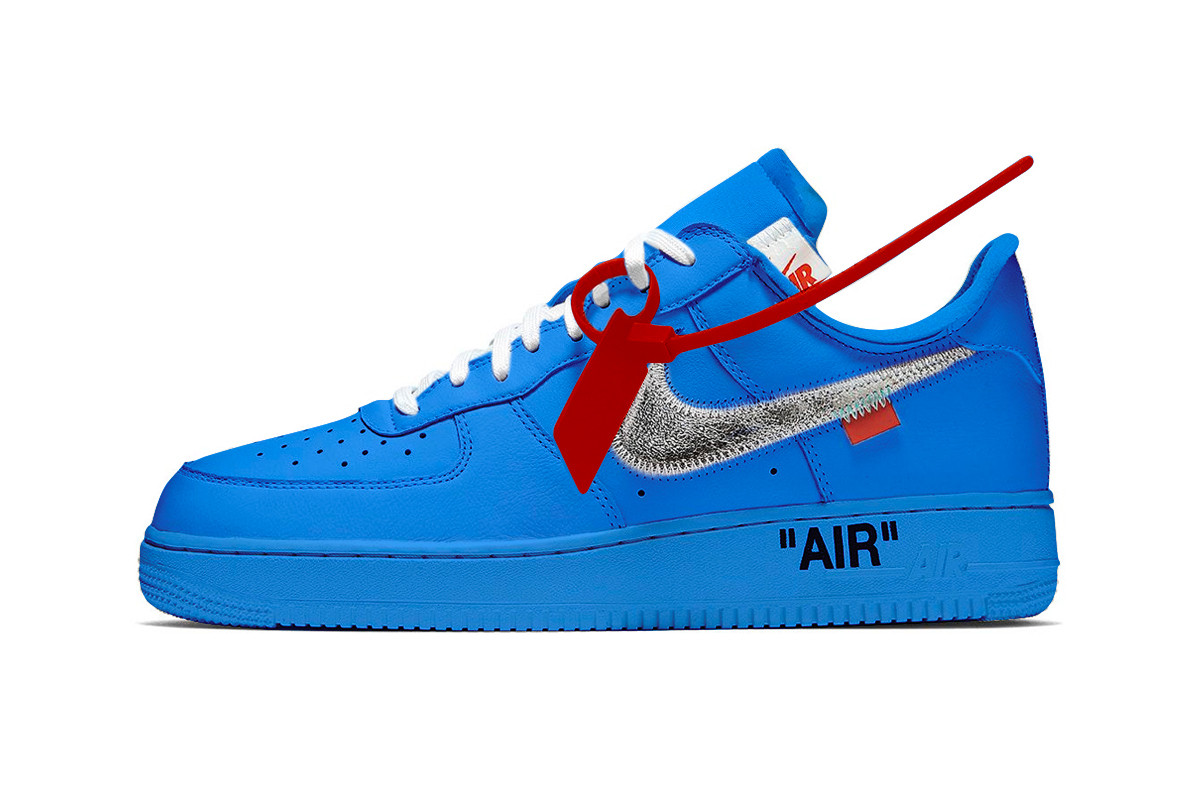 OFF-WHITE x Nike Air Force 1 Low MCA 'University Blue' - Zapowiedź
