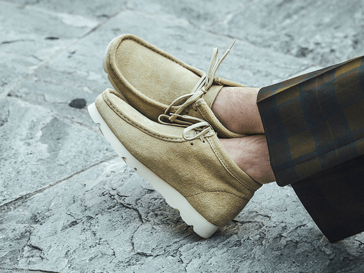 BEAMS x Clarks Originals GTX Wallabee
