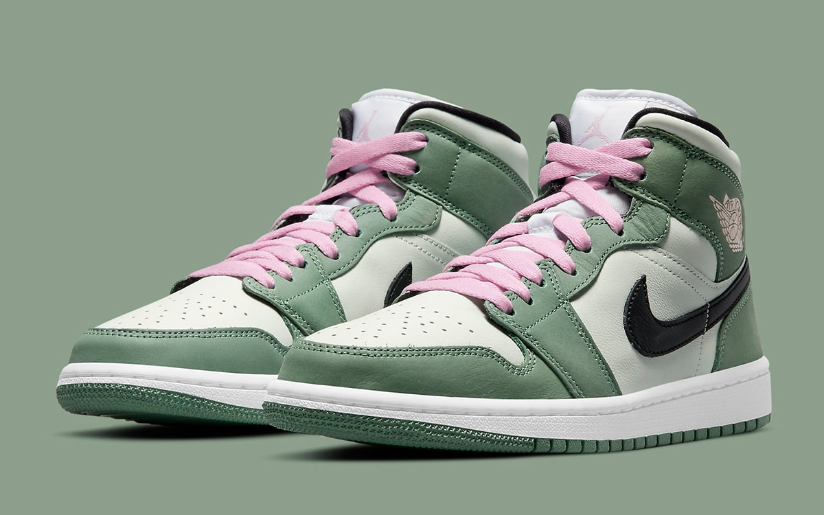 Air Jordan 1 Mid SE 'Dutch Green'