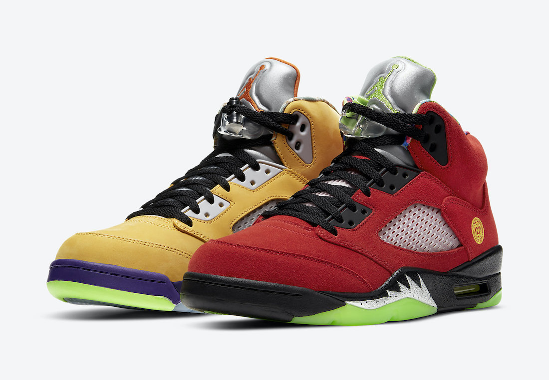 Oficjalne Zdjęcia + Data Premiery Air Jordan 5 'What The'