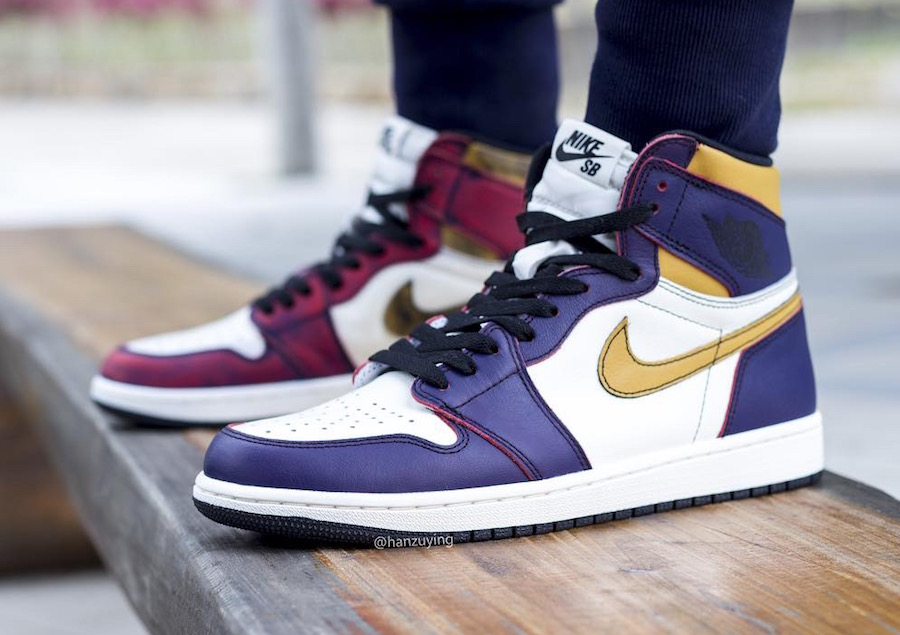 On Feet: Nike SB x Air Jordan 1 High OG