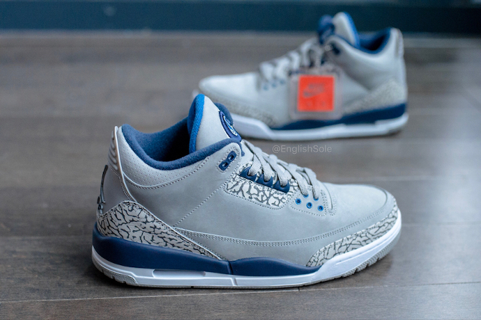 Update: Air Jordan 3 'Georgetown' PE