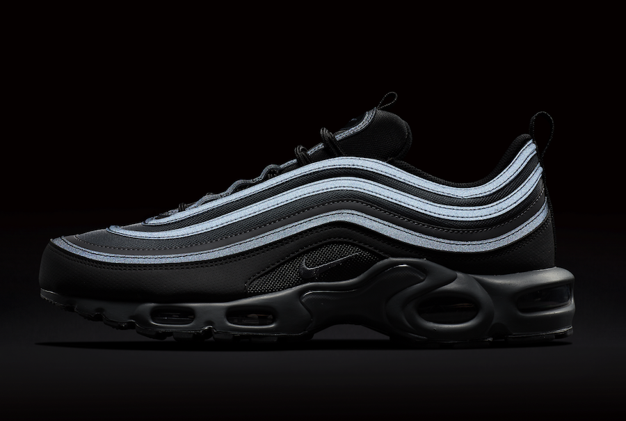 Nike Air Max Plus 97 'Black Reflective'
