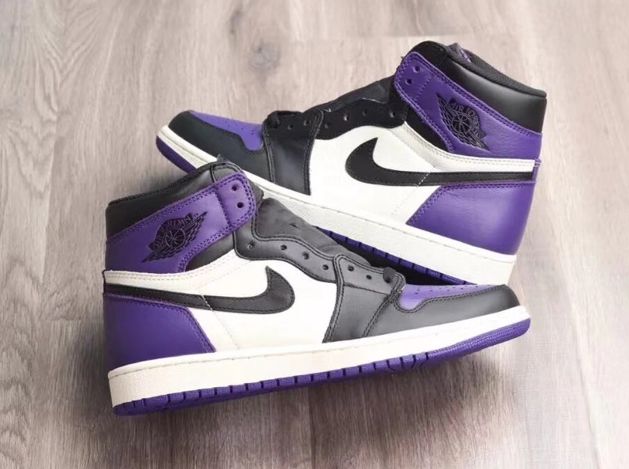 Update: Air Jordan 1 High OG 'Court Purple'
