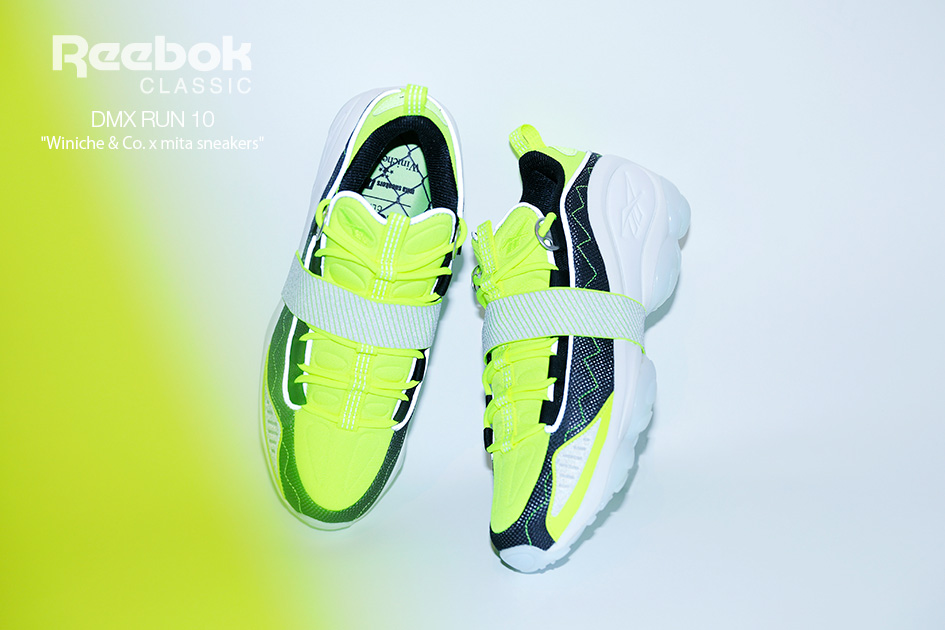 Winiche & Co. & mita sneakers x Reebok DMX Run 10