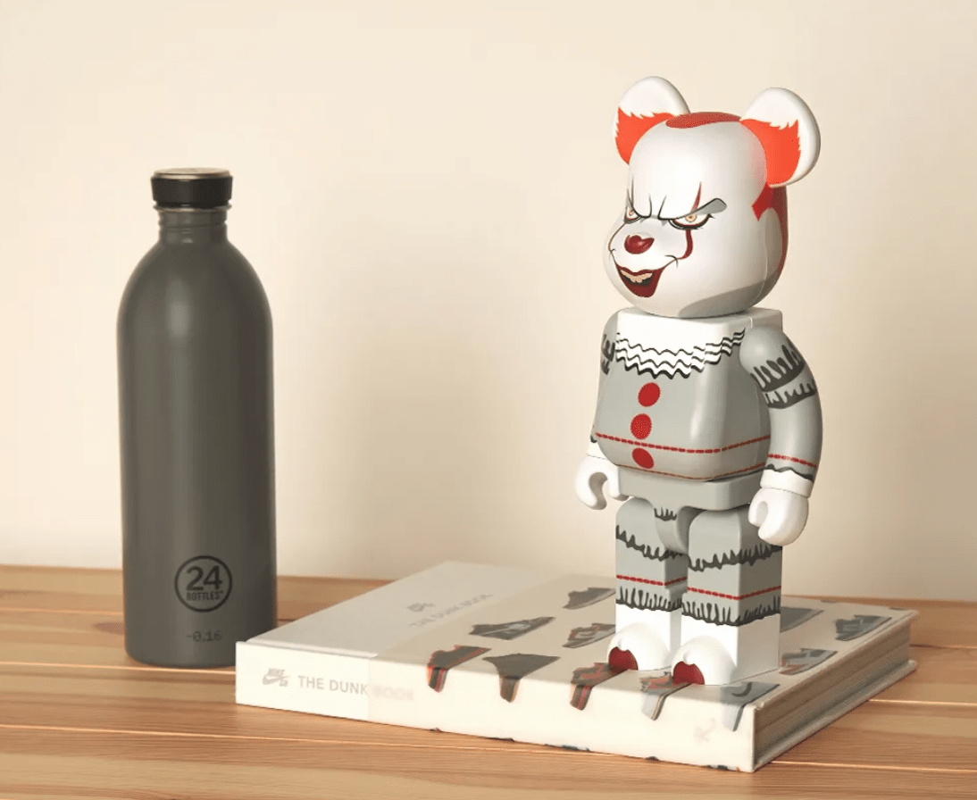 Medicom Toy BE@RBRICK 'Pennywise' 400% & 1000%