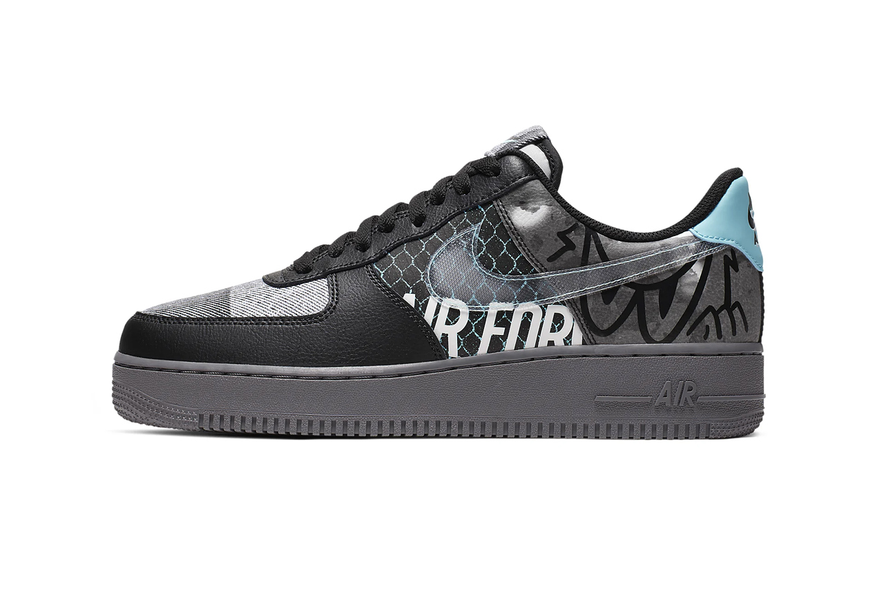 Nike Air Force 1 '07 Premium 'Off Noir/Pure Platinum'