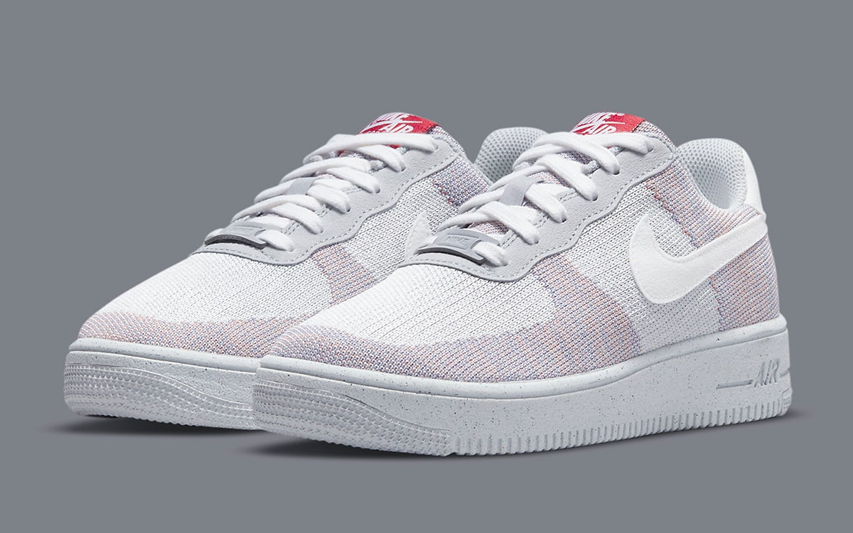 "Dostaniemy też jasne Air Force 1 Flyknit Crater ""Wolf Grey"""