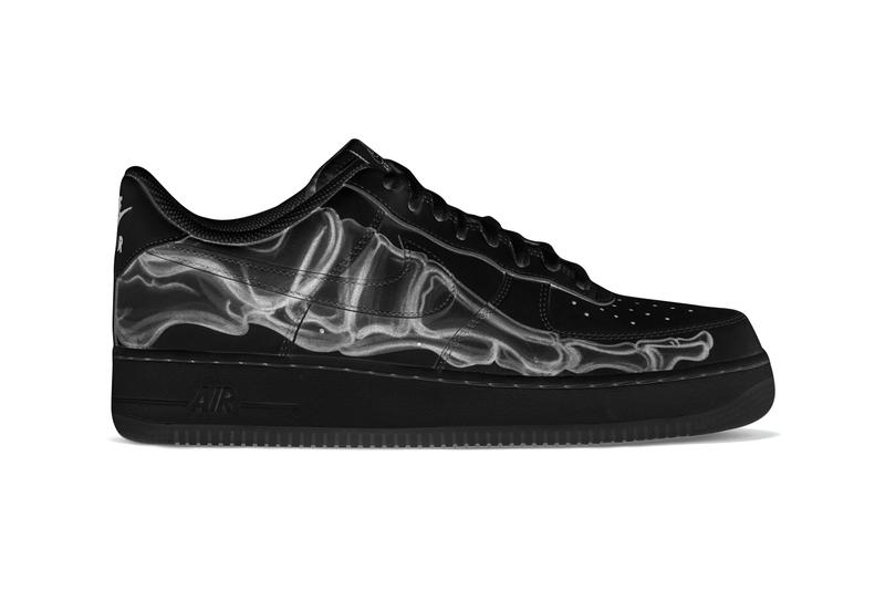 Nike Air Force 1 Low 'Black Skeleton' - Zapowiedź