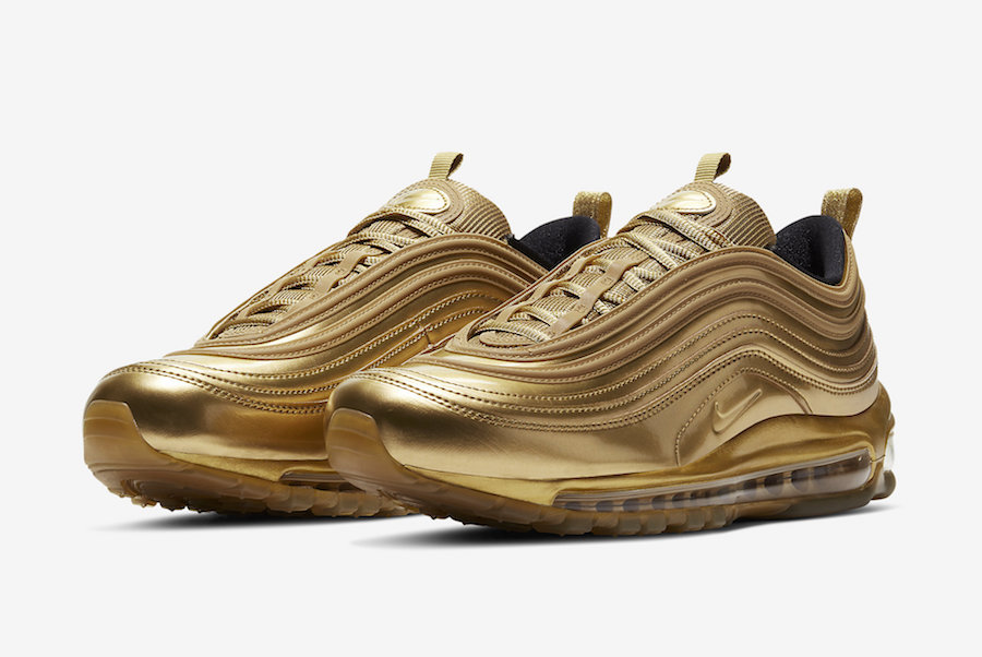 Nike Air Max 97 'Gold' Release Date CT4556 700 | Sole Collector