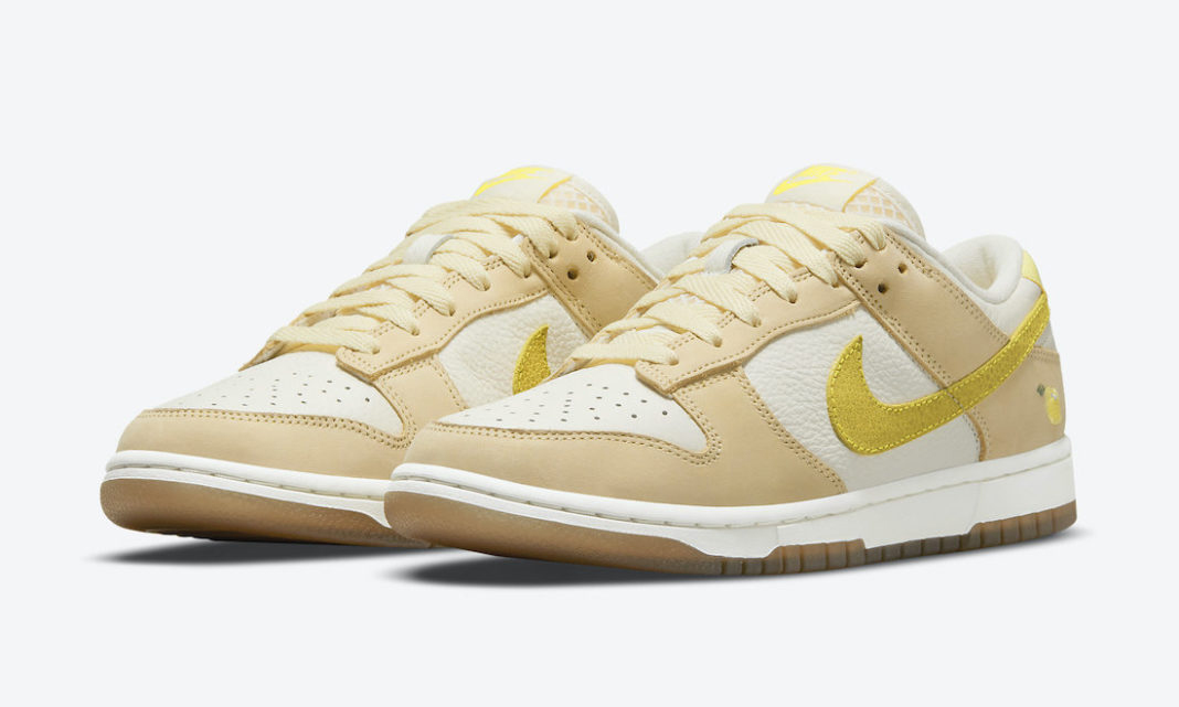 "Znamy datę premiery Nike Dunk Low ""Lemon Drop"""