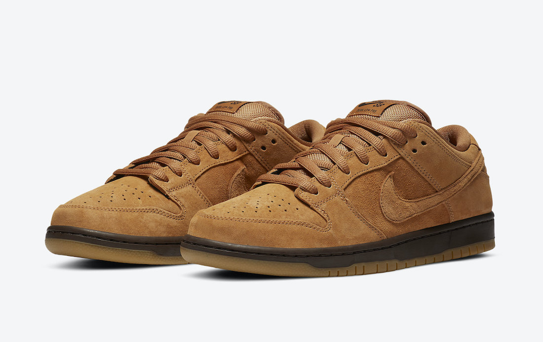 Nike SB Dunk Low 'Wheat Mocha' Już na SNKRS App