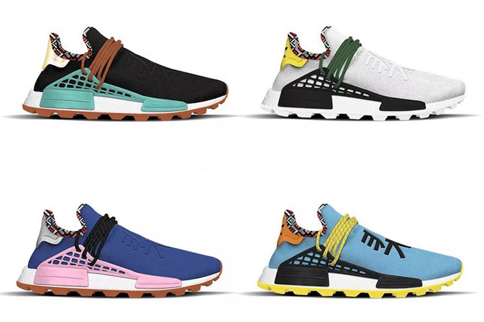 "Pharrell Williams x adidas NMD Hu 'Inspiration"" Pack' - Zapowiedź"
