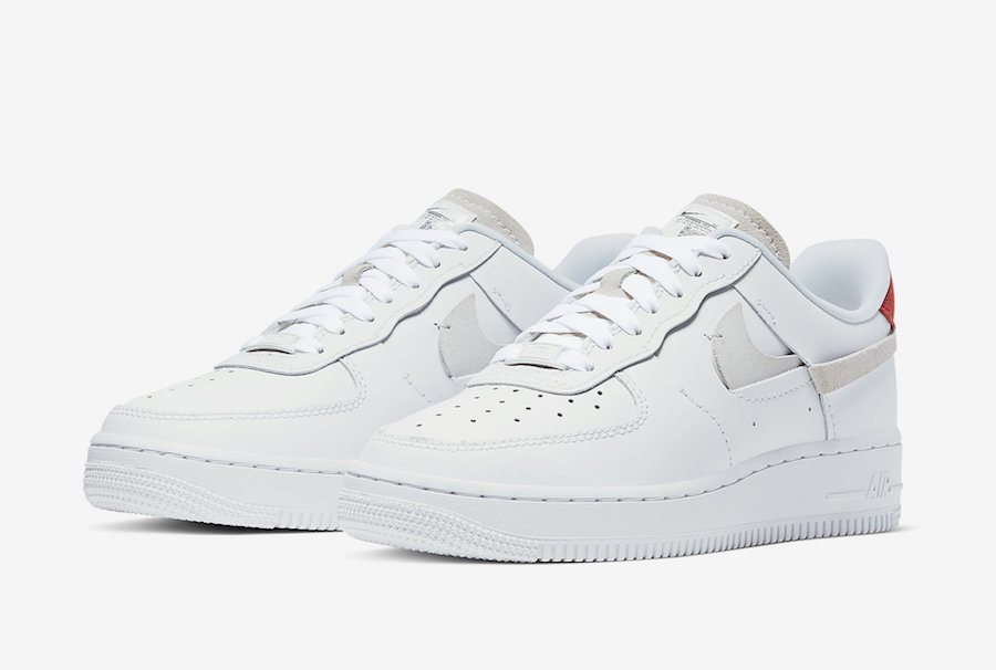 Oficjalne Zdjęcia Nike Air Force 1 'Inside Out'
