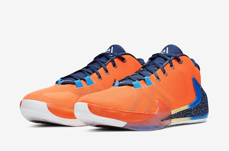 Oficjalne Zdjęcia Nike Zoom Freak 1 'Total Orange'