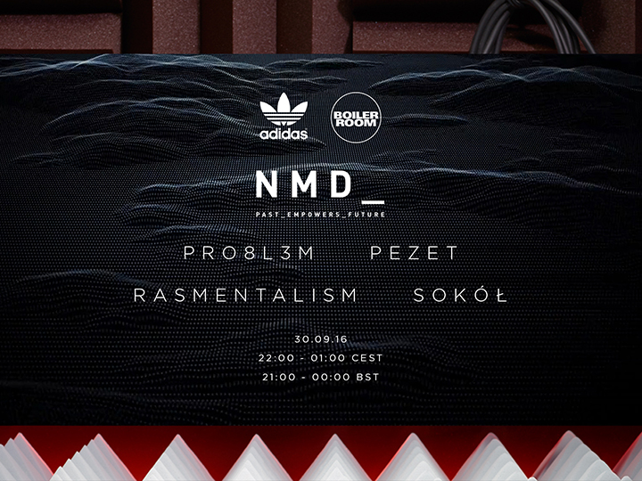 Boiler Room x adidas Originals 'NMD_PAST EMPOWERS FUTURE'