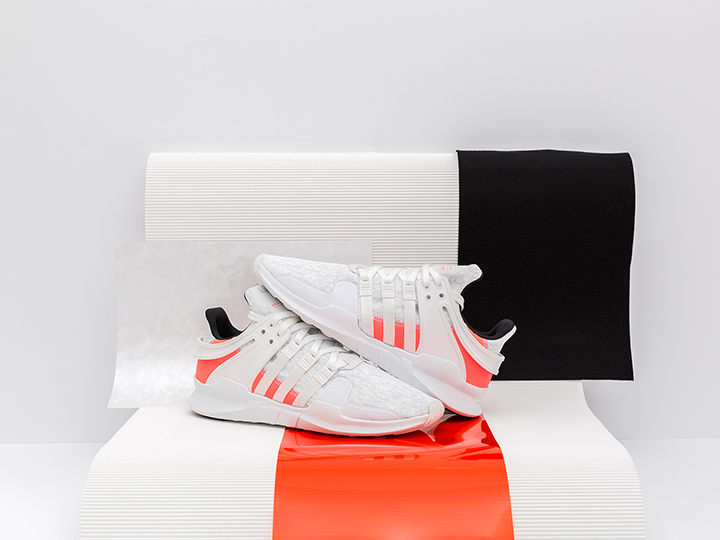 Tenisufki x adidas EQT Support ADV 'Crystal White/Footwear White/Turbo'