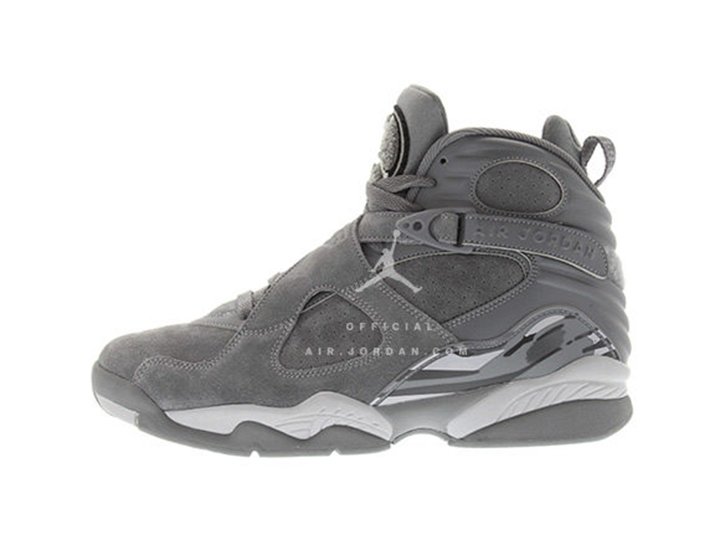 Air Jordan 8 'Cool Grey'