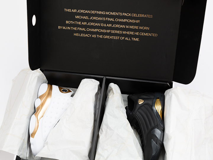 Tenisufki x Air Jordan 13/14 Defining Moments Pack