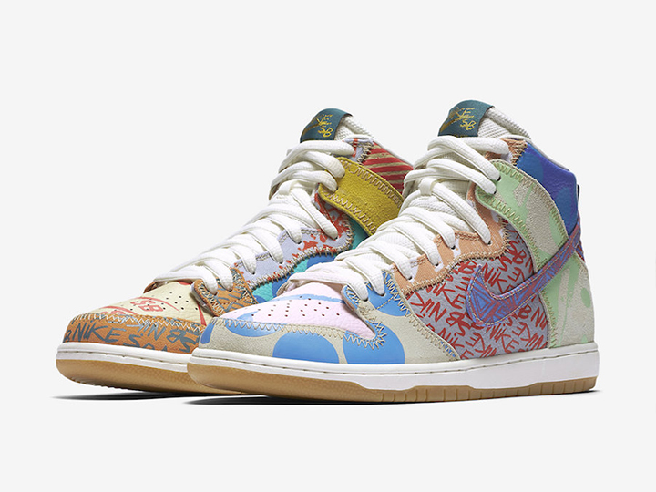 Thomas Campbell x Nike SB 'What The Dunk' High Premium