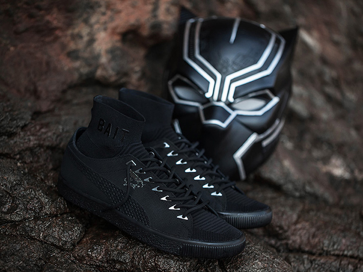 BAIT x Black Panther x PUMA Clyde Sock