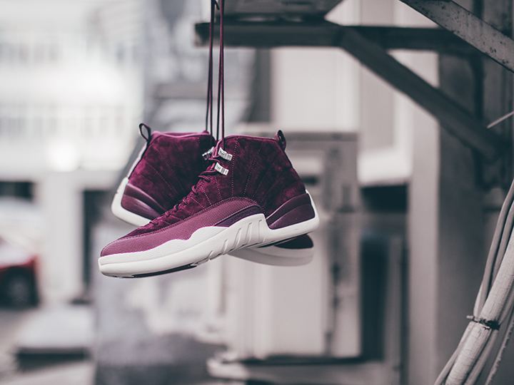Tenisufki x Air Jordan 12 'Bordeaux'