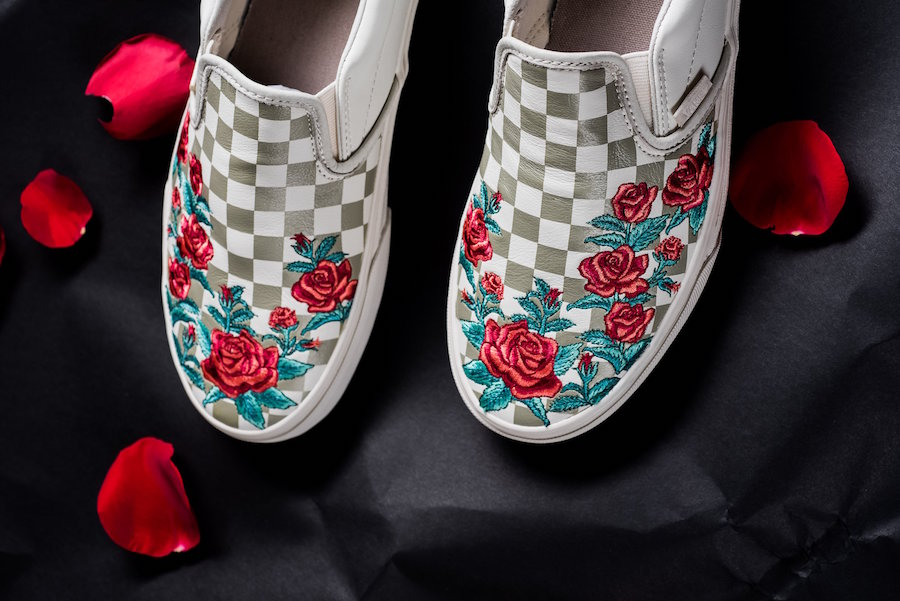 Vans Vault 'Rose Embroidery' Pack