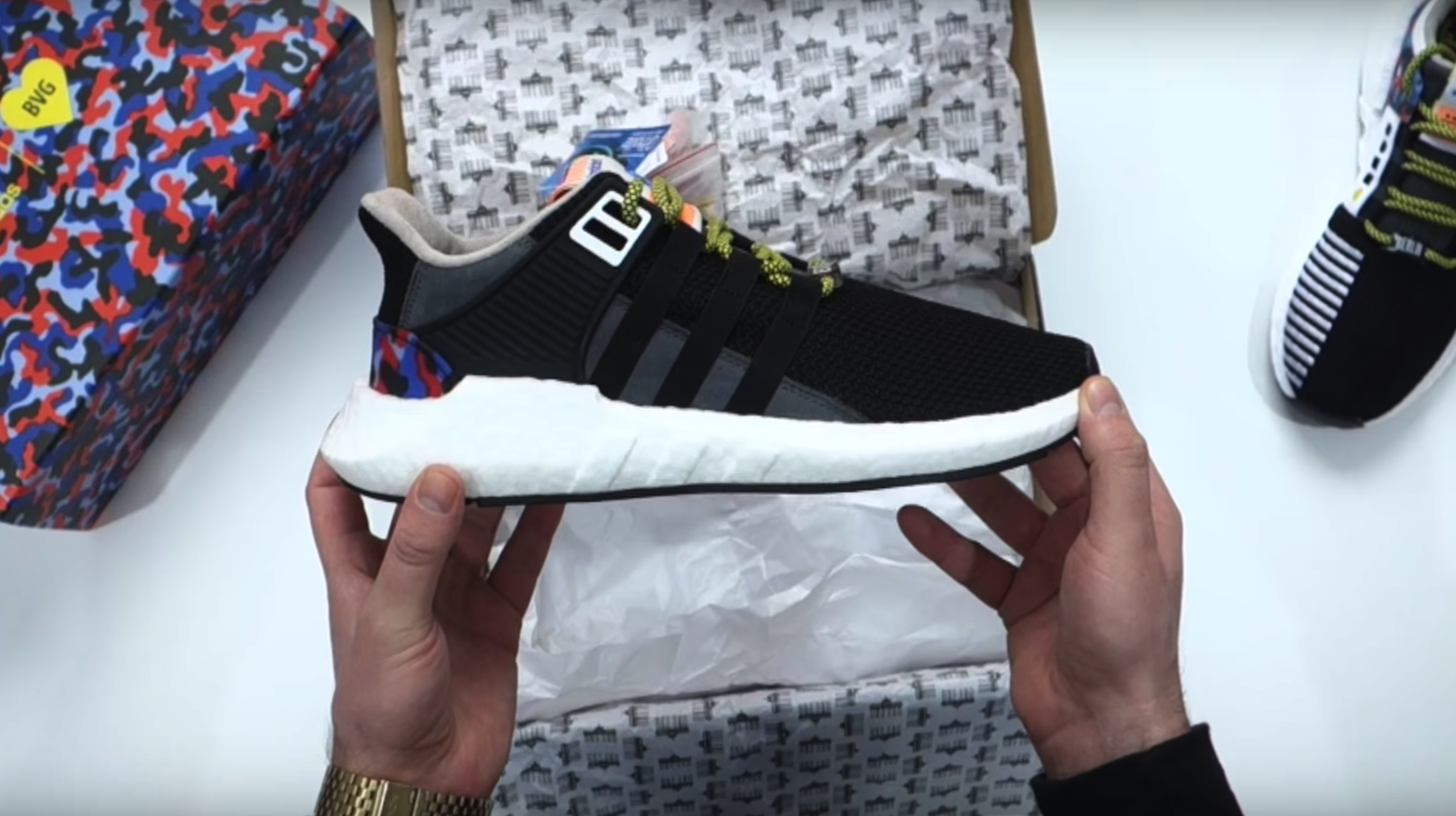Tenisufki UNBOXING: adidas Equipment Support 93/17 Berlin BVG 206/500