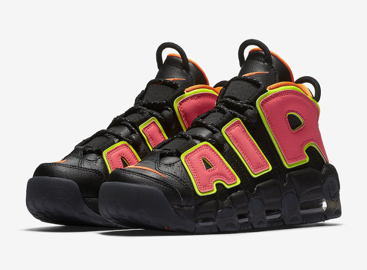 Nike WMNS Air More Uptempo 'Hot Punch' - Zapowiedź