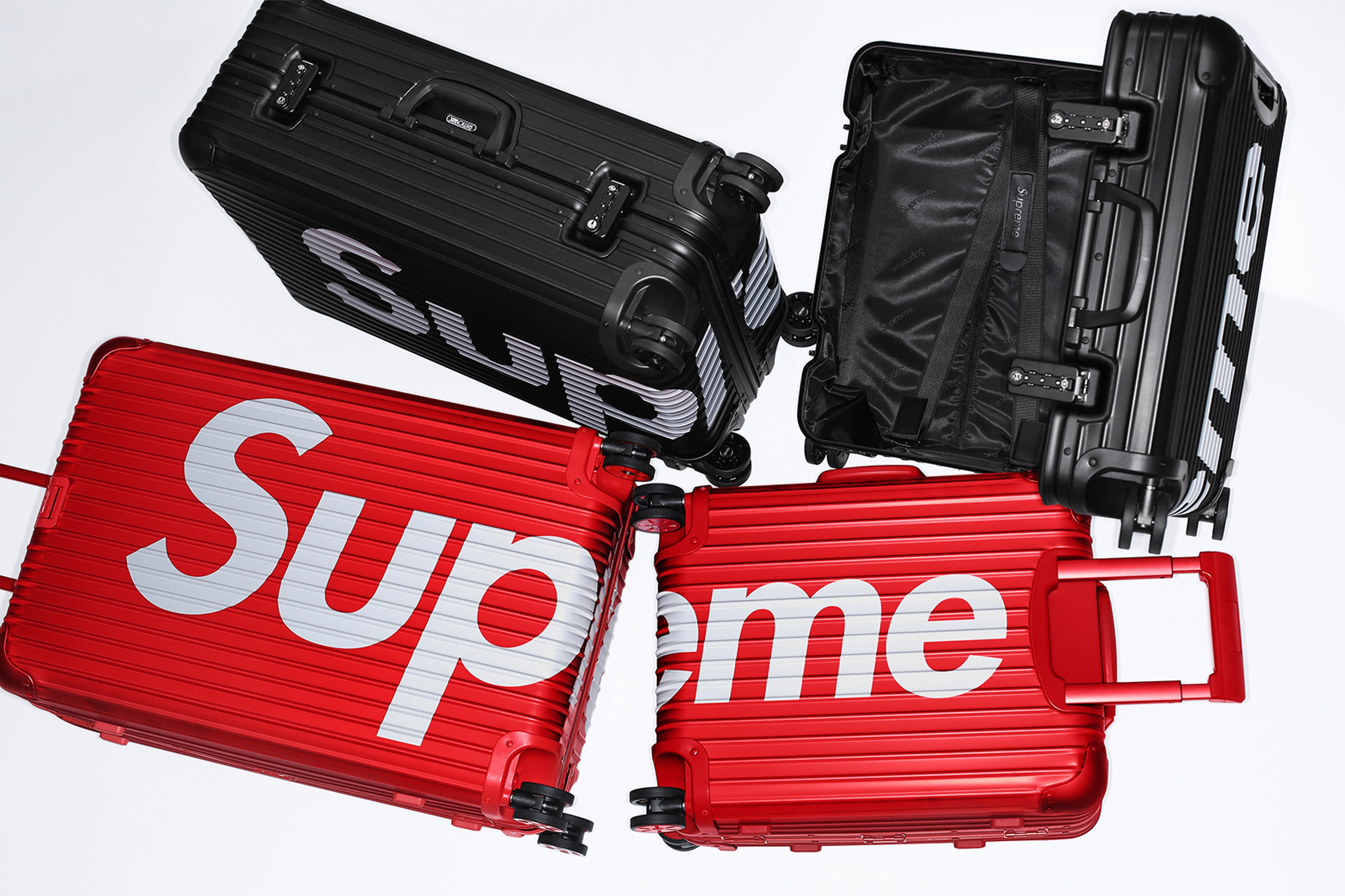Supreme x RIMOWA Spring 2018 Collection - Oficjalne Info + Ceny