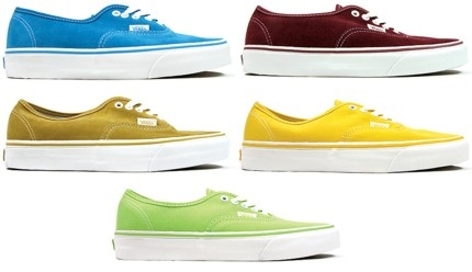 Vans Authentic - Wiosna 2009