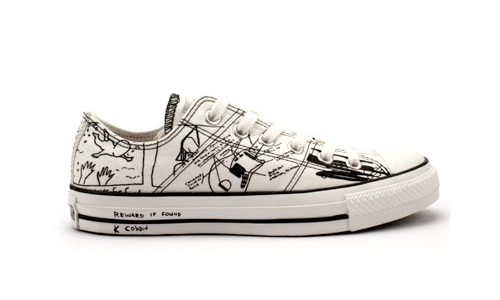 Kurt Cobain Converse All Star