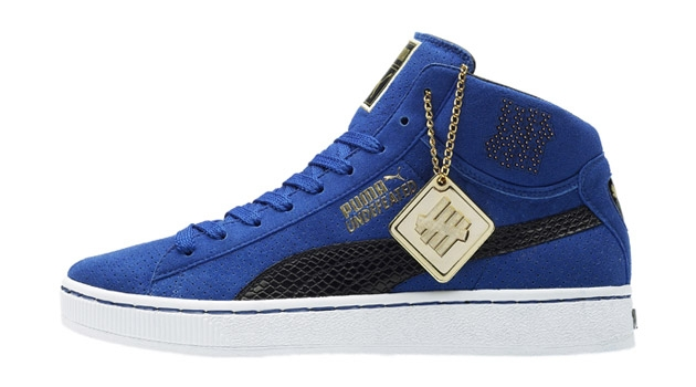 Undefeated x PUMA 24k Mid Collection
