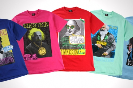 "Stussy ""Great Minds"" Collection."