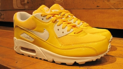 Nike Air Max 90 WMNS Maize Patent Leather