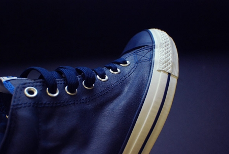 Converse CTS Mid Navy Blue Waxed Canvas