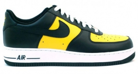 Nike Air Force 1 - Black/Yellow/White