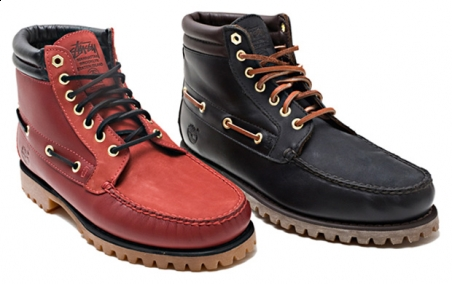 Stussy NYC x Timberland 8-Hole Boot