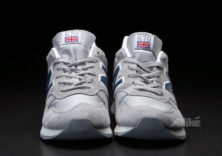 New Balance M670 GO Grey/Navy