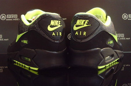 Nike Air Max 90 - Black/Volt/Dark Grey