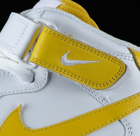 Nike Air Force Mid - White/Varisty Maize