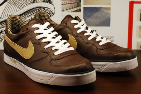 Nike Ace '83 AC – Brown – Tan – Houndstooth